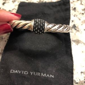 David Yurman Osetra Sterling Silver and Hematite